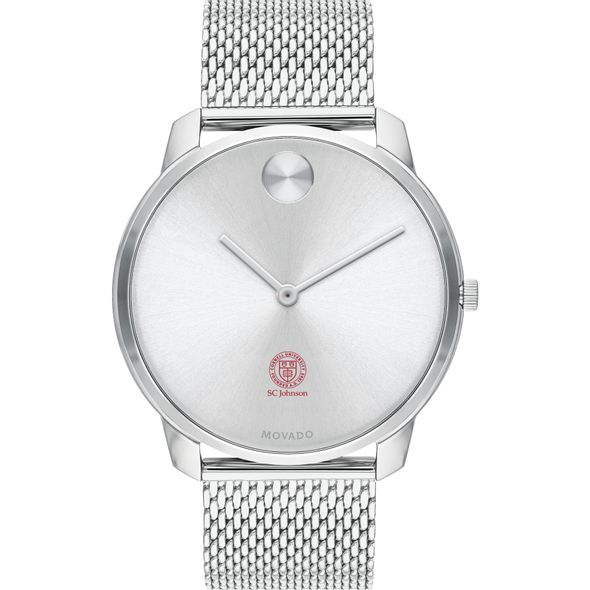 Cornell SC Johnson College of Business Men's Movado Stainless Bold 42 - Image 2