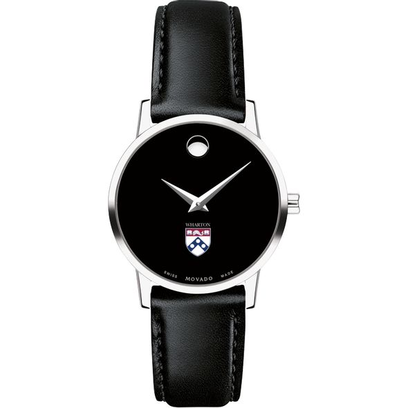 Wharton Women's Movado Museum with Leather Strap - Image 2