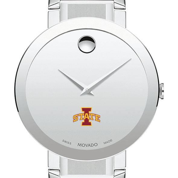 Iowa State University Men's Movado Sapphire Museum with Bracelet