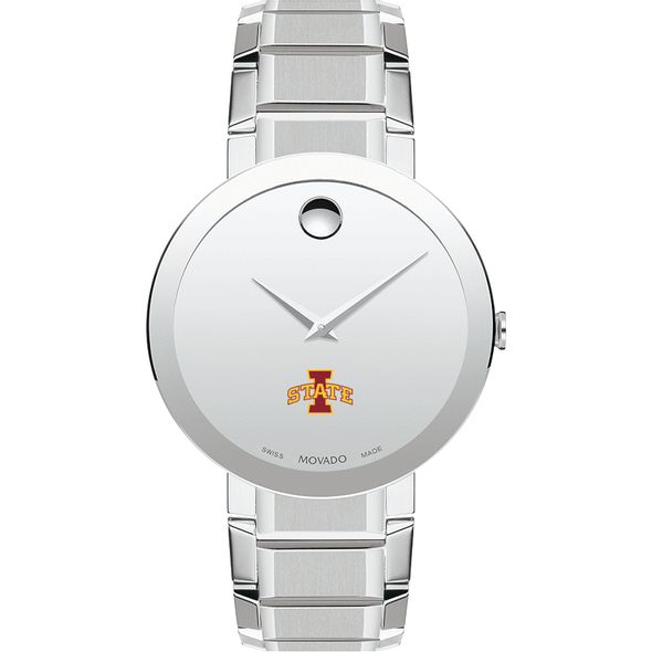 Iowa State University Men's Movado Sapphire Museum with Bracelet - Image 2