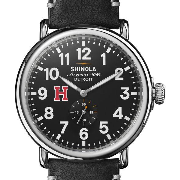 Harvard Shinola Watch, The Runwell 47mm Black Dial