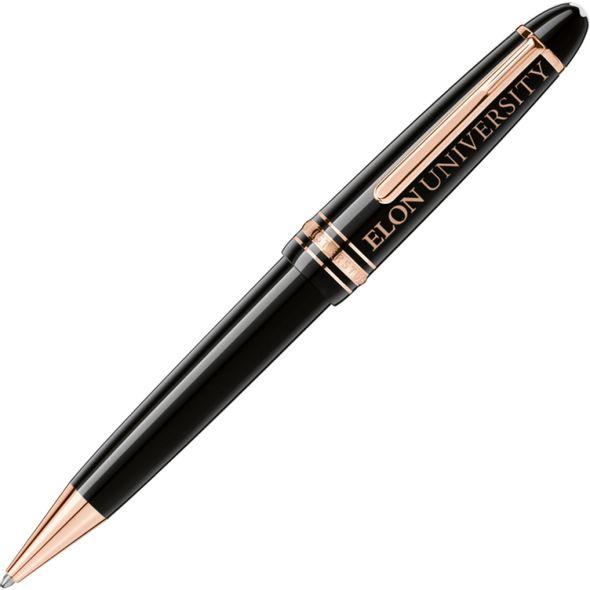 Elon Montblanc Meisterstück LeGrand Ballpoint Pen in Red Gold