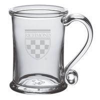 University of Richmond Glass Tankard by Simon Pearce