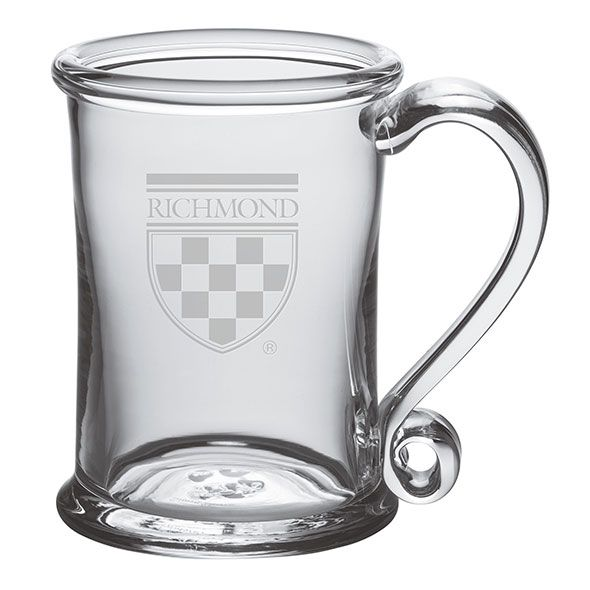 University of Richmond Glass Tankard by Simon Pearce