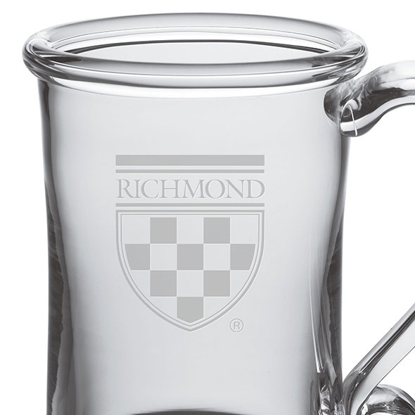 University of Richmond Glass Tankard by Simon Pearce - Image 2