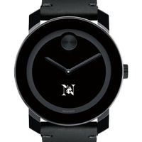 Northeastern Men's Movado BOLD with Leather Strap
