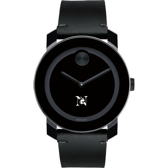 Northeastern Men's Movado BOLD with Leather Strap - Image 2