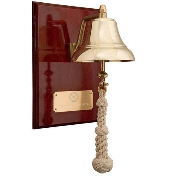 USNI Weems & Plath Brass Bell - Image 2