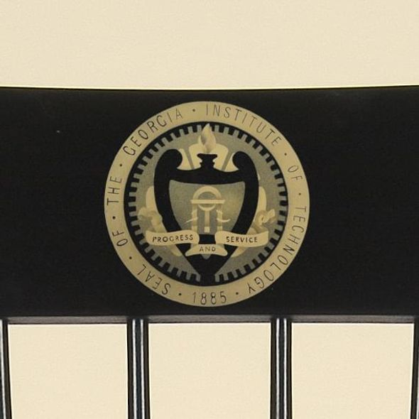 Georgia Tech Captain's Chair by Hitchcock - Image 2
