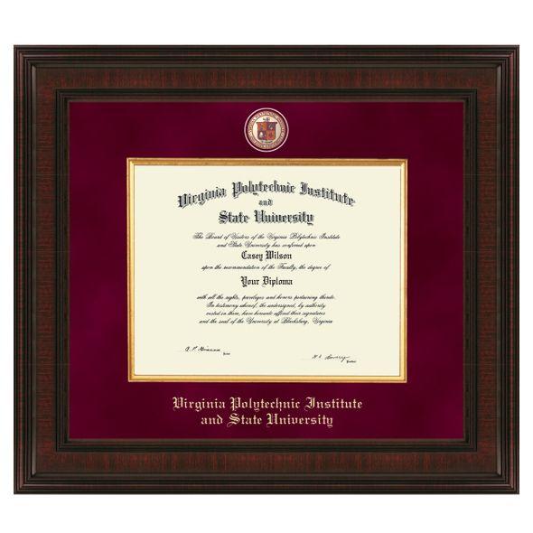 Virginia Tech Excelsior Diploma Frame - Image 1