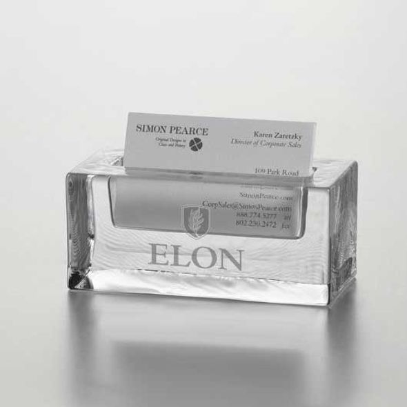 Elon Glass Business Cardholder by Simon Pearce