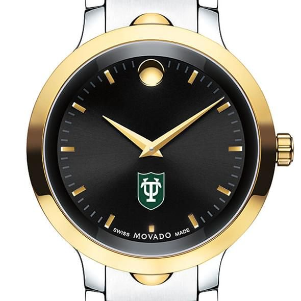 Tulane University Men's Movado Luno Sport Two-Tone
