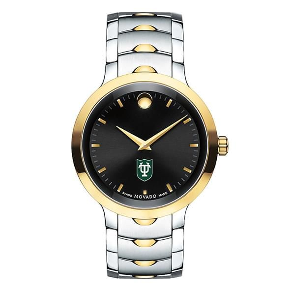 Tulane University Men's Movado Luno Sport Two-Tone - Image 2