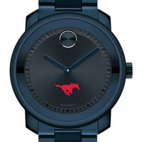Southern Methodist University Men's Movado BOLD Blue Ion with Bracelet