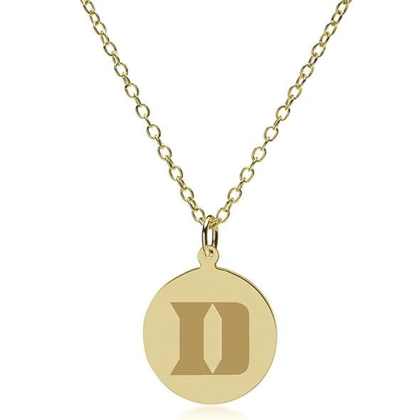Duke 18K Gold Pendant & Chain