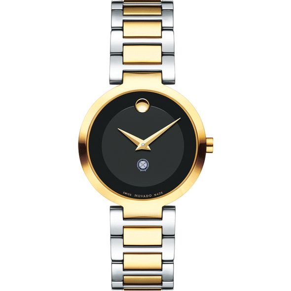 U.S. Naval Institute Women's Movado Two-Tone Modern Classic Museum with Bracelet - Image 2
