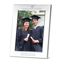 Michigan State University Polished Pewter 5x7 Picture Frame
