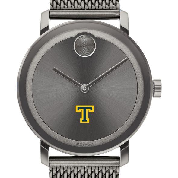 Trinity College Men's Movado BOLD Gunmetal Grey with Mesh Bracelet