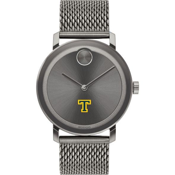 Trinity College Men's Movado BOLD Gunmetal Grey with Mesh Bracelet - Image 2