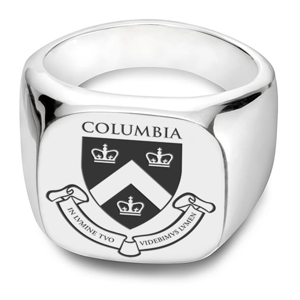 Columbia Sterling Silver Square Cushion Ring