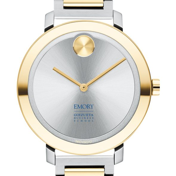 Emory Goizueta Business School Women's Movado Two-Tone Bold 34 - Image 1
