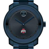 Ohio State University Men's Movado BOLD Blue Ion with Bracelet