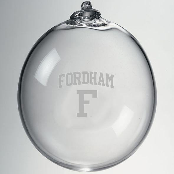 Fordham Glass Ornament by Simon Pearce - Image 2