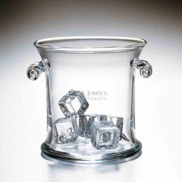 St. John's Glass Ice Bucket by Simon Pearce