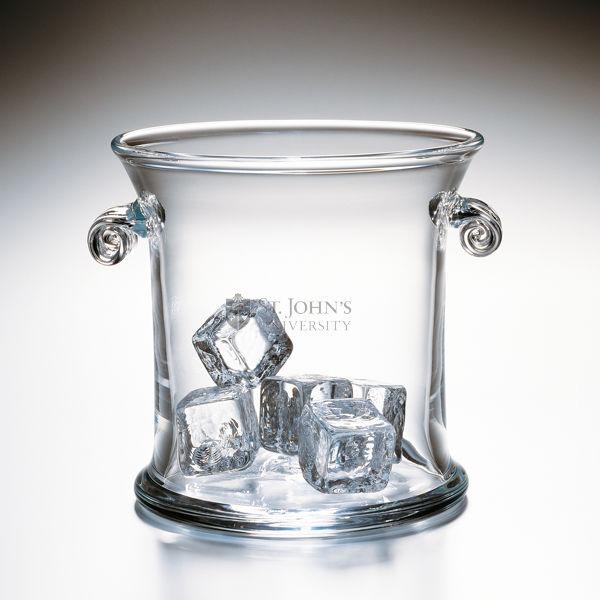 St. John's Glass Ice Bucket by Simon Pearce - Image 2
