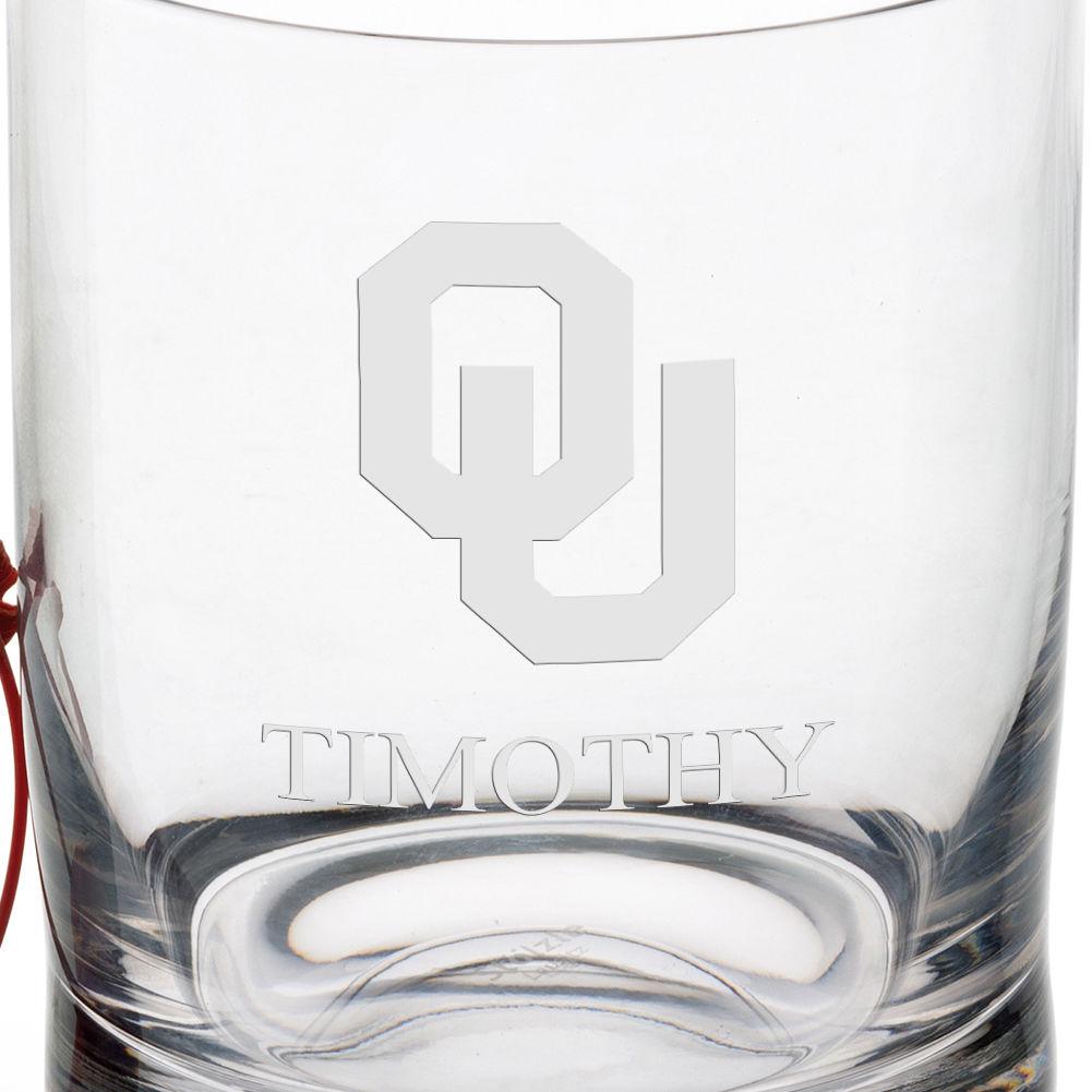 Oklahoma Tumbler Glasses - Set of 4 - Image 3