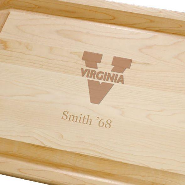 University of Virginia Maple Cutting Board - Image 2