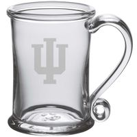Indiana University Glass Tankard by Simon Pearce