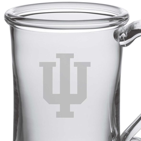 Indiana University Glass Tankard by Simon Pearce - Image 2