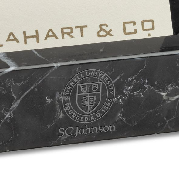 SC Johnson College Marble Business Card Holder - Image 2