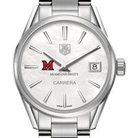 Miami University Women's TAG Heuer Steel Carrera with MOP Dial