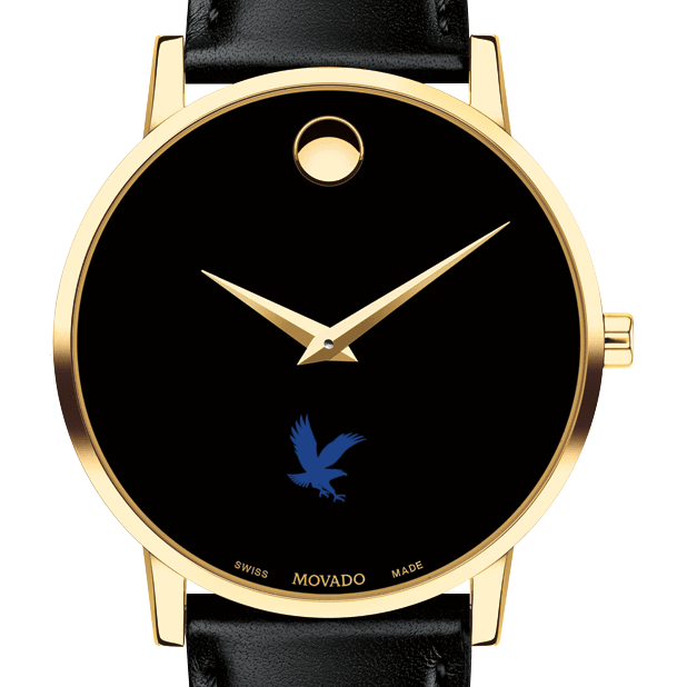 Embry-Riddle Men's Movado Gold Museum Classic Leather