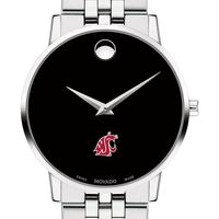Washington State University Men's Movado Museum with Bracelet