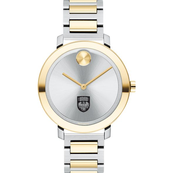 University of Chicago Women's Movado Two-Tone Bold 34 - Image 2