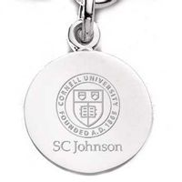 SC Johnson College Sterling Silver Charm