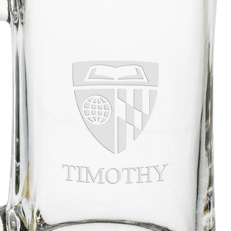 Johns Hopkins 25 Oz Glass Stein - Image 3