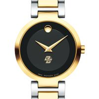 Boston College Women's Movado Two-Tone Modern Classic Museum with Bracelet