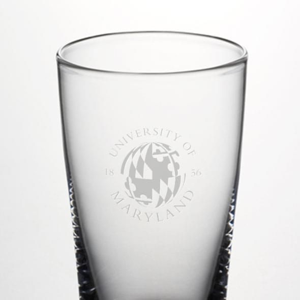 Maryland Ascutney Pint Glass by Simon Pearce - Image 2