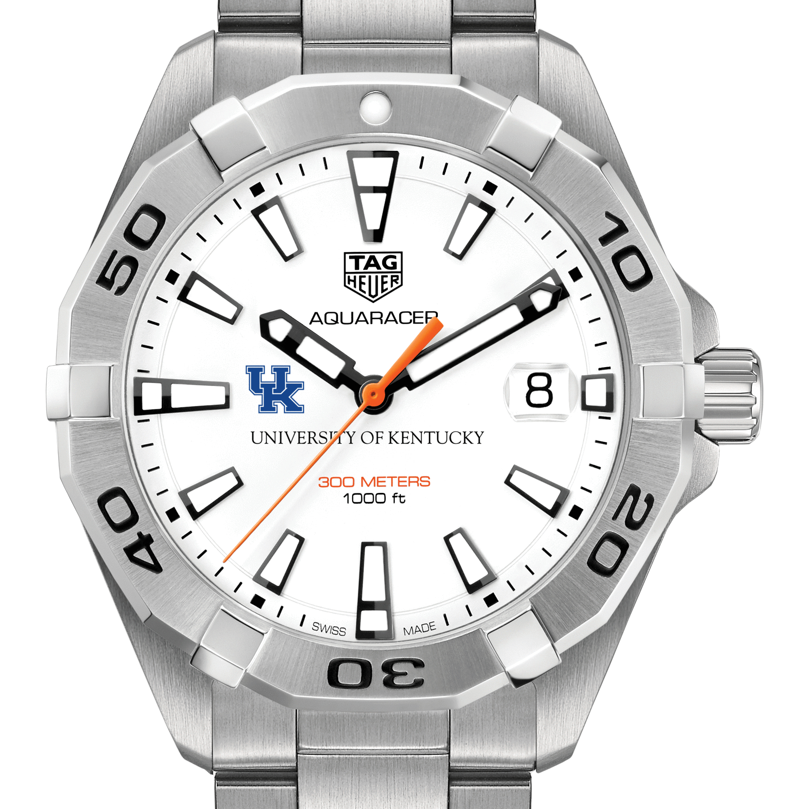 Kentucky Men's TAG Heuer Steel Aquaracer - Image 1