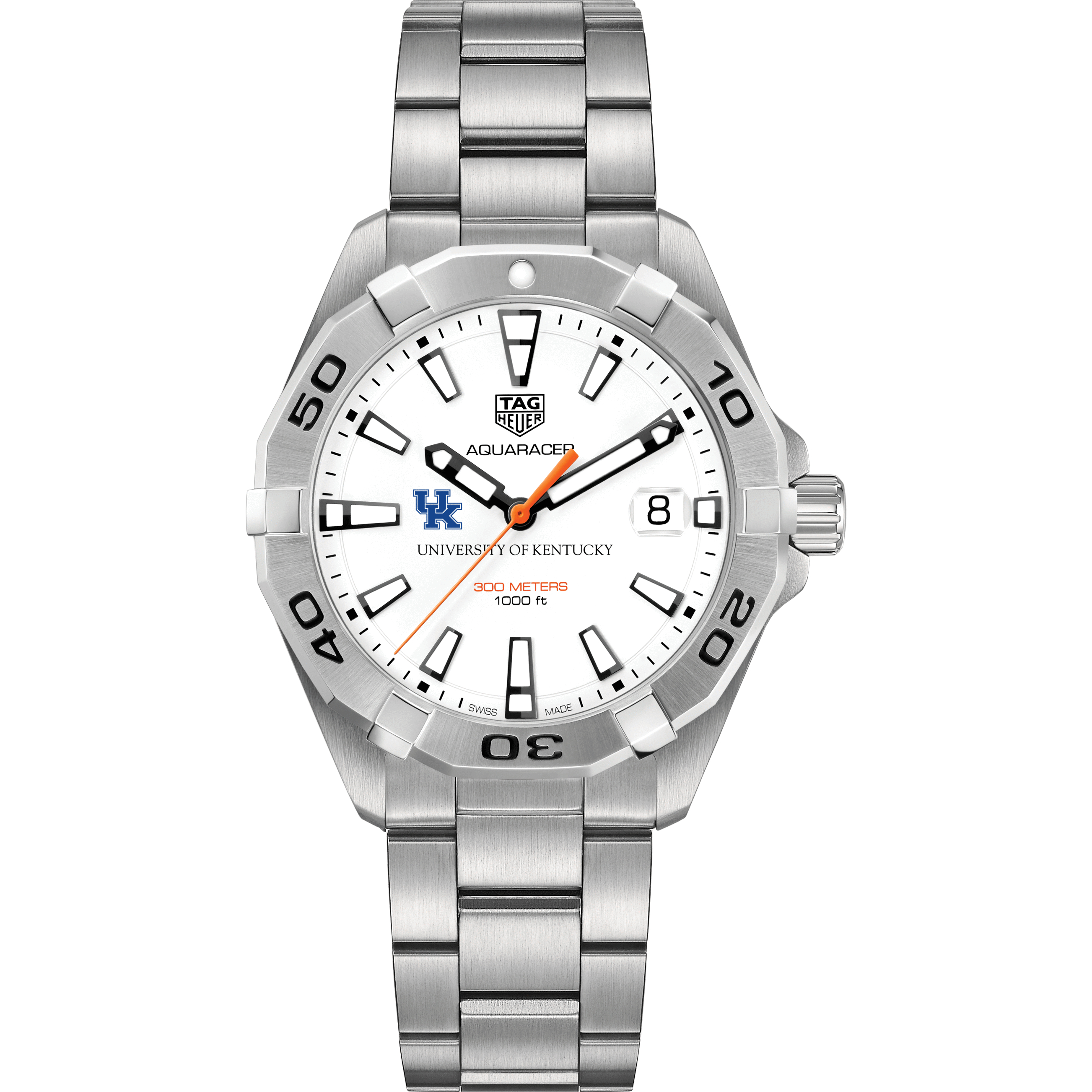Kentucky Men's TAG Heuer Steel Aquaracer - Image 2