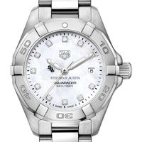 SFASU Women's TAG Heuer Steel Aquaracer with MOP Diamond Dial