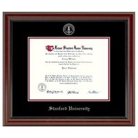 Stanford University Diploma Frame, the Fidelitas