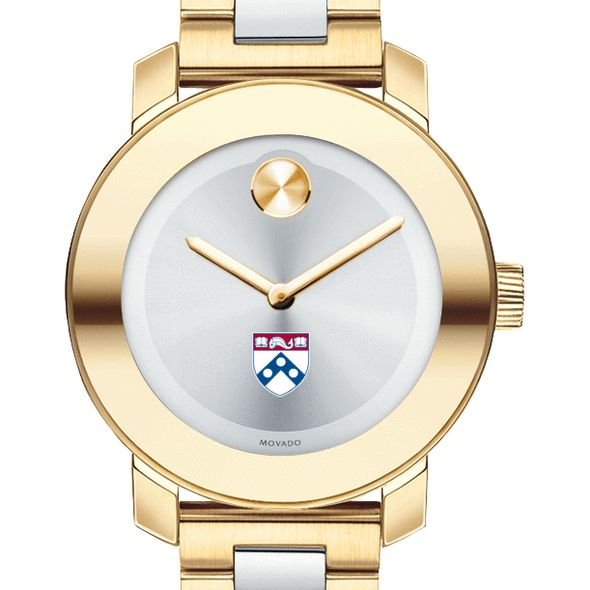 University of Pennsylvania Women's Movado Two-Tone Bold
