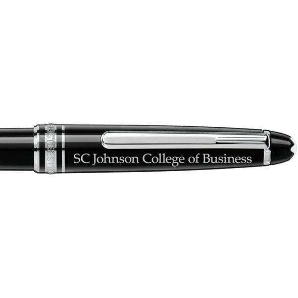 SC Johnson College Montblanc Meisterstück Classique Ballpoint Pen in Platinum - Image 2