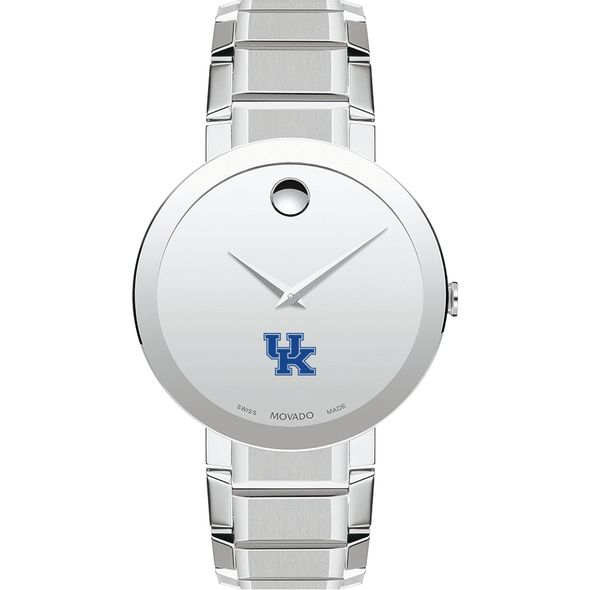 University of Kentucky Men's Movado Sapphire Museum with Bracelet - Image 2