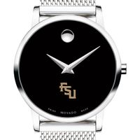 Florida State University Women's Movado Museum with Mesh Bracelet